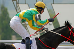 Jockey stock photography