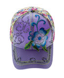 Jockey cap  isolated on white Royalty Free Stock Images