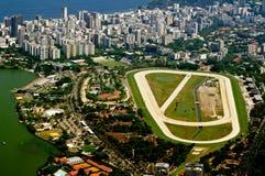 Jockey Club and Leblon in Rio de Janeiro Stock Photos