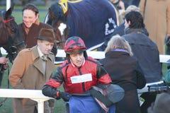 Jockey de Barry Geraghty Photos stock