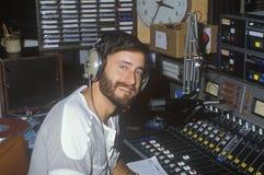 Jockey de disque par radio photos libres de droits