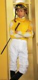Jockey Garrett Gomez Lizenzfreie Stockfotos
