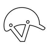 Jockey helmet isolated icon Stock Photography
