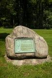 Jockey Hollow Cemetery Royalty-vrije Stock Afbeelding