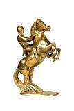 Jockey on a horse Royalty Free Stock Photo