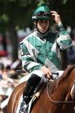 Jockey Irad Ortiz Jr. Royalty Free Stock Photos