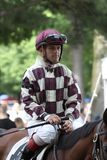 Jockey Javier Castellano Stock Image