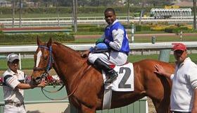 Jockey Kevin Krigger and Royalty Free Stock Photo
