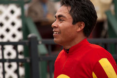 Jockey Martin Garcia Images stock