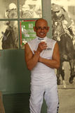 jockey Mike Smith αιθουσών φήμης Στοκ φωτογραφίες με δικαίωμα ελεύθερης χρήσης