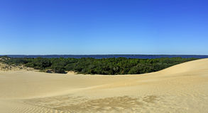 Free Jockey S Ridge And Roanoke Sound Panorama Royalty Free Stock Photos - 60559038