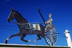 Jockey sign Royalty Free Stock Photography