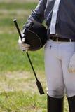 Jockey in uniform Stock Photos