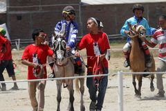 Jockeys Royalty Free Stock Images