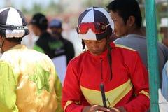 Jockeys Stock Photo