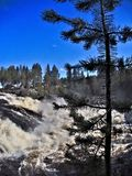 Jockfall-cachoeira Fotos de Stock Royalty Free