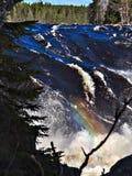 Jockfall-cascade Photo stock