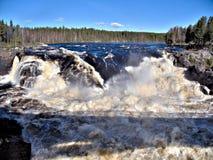 Jockfall-cascade photos stock