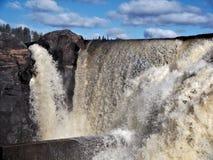 Jockfall-cascade Photographie stock