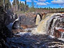 Jockfall-cascade photo libre de droits