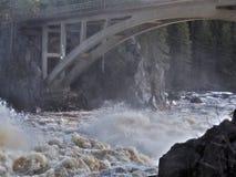 Jockfall-cascata Immagini Stock Libere da Diritti