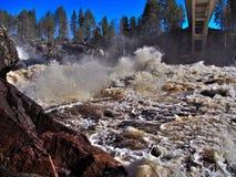 Jockfall-vattenfall Royaltyfri Foto
