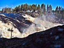 Jockfall-vattenfall Royaltyfria Bilder