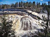 Jockfall-vattenfall Royaltyfria Foton