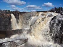 Jockfall-vattenfall Arkivfoton