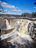 Jockfall-vattenfall Arkivfoto