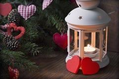Jodła rozgałęzia się świeczkę Zdjęcie Royalty Free