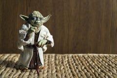 Joda Action Figure mestre do filme de Star Wars Imagem de Stock Royalty Free