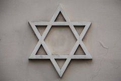 Jodenster, symbool van Judaïsme Royalty-vrije Stock Afbeelding