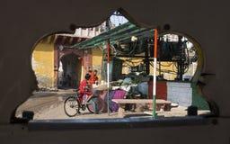 Jodhhpur durch das tuk-tuk Lizenzfreie Stockfotos