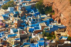 Jodhpur - Blue City Stock Photos