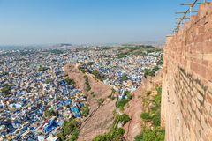 Jodhpur blue city Royalty Free Stock Photography