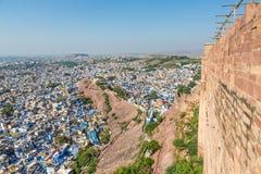 Jodhpur blue city Royalty Free Stock Photography