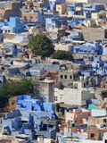 Jodhpur, the Blue City. The blue city of the Brahmins seen from Mehrangarh Fort Stock Photos