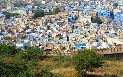 Jodhpur Blue City Royalty Free Stock Image