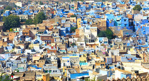 Jodhpur Blue City Stock Photo