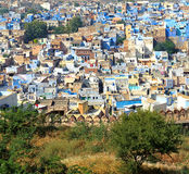 Jodhpur Blue City Royalty Free Stock Photo