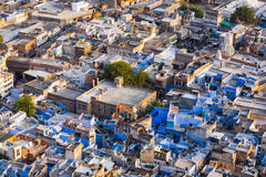 Jodhpur the blue city in Rajasthan Royalty Free Stock Photos