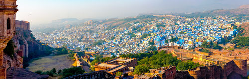 Jodhpur, the Blue City of Rajasthan, India Stock Images