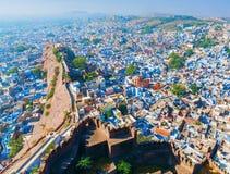 Jodhpur - Blue City. Rajasthan, India. Jodhpur, the Blue City. View from Mehrangarh Fort. Rajasthan, India, Asia Royalty Free Stock Image