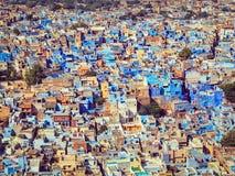 Jodhpur the Blue city, Rajasthan, India Stock Photo