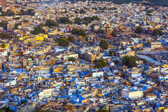 Jodhpur the blue city in Rajasthan state in India Royalty Free Stock Image