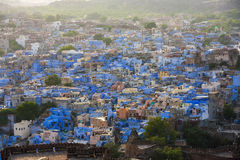 Jodhpur the blue city in Rajasthan state in India Stock Images