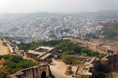 Jodhpur the blue city in Rajasthan state in India Royalty Free Stock Images