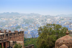 Jodhpur the blue city in Rajasthan state in India. Stock Photo