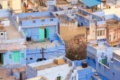 Jodhpur, the Blue City seen from Mehrangarh Fort Stock Photography